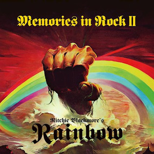 RITCHIE BLACKMORE'S RAINBOW release their album 'Memories In Rock II' live 2 CD/DVD on April 6th