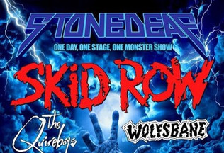 STONEDEAF Rock Festival August 25th to Feature Skid Row, Anvil, The Quireboys and more