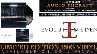 "EVOLUTION EDEN's New Album ""Audio Therapy' Available on Ltd Edition Vinyl & CD"