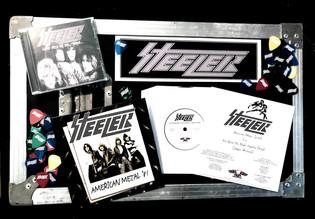 "Ron Keel's STEELER release ""American Metal"" bundle set"