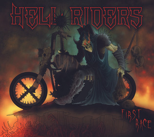 """Hell Riders release new album """"First Race"""" waving the flag for NWOBHM"""