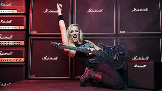 NITA STRAUSS on Upcoming Solo Album, Touring  & Challenges As An Artist