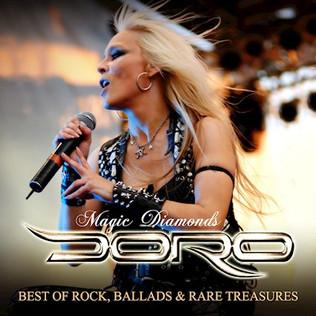 "DORO to release ""Magic Diamonds - Best Of Rock, Ballads & Rare Treasures"""