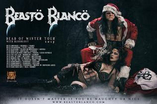 Beasto Blanco 'Dead of Winter' Tour Dates