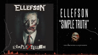 """""""Simple Truth"""" the new track from ELLEFSON, the solo project of Megadeth bassist David Ell"""