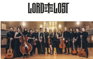 """LORD OF THE LOST Releases Official Video for New Cover Version of John Cage's 4'33"""""""