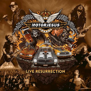 MOTORJESUS release their storming new live album 'Live Resurrection' December 20th