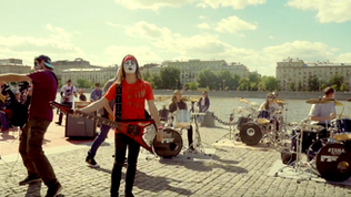 """Russia's Rocknmob feat. over 270 musicians perform  """"I Was Made For Lovin' You"""""""