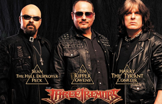 THE THREE TREMORS EXPAND US TOUR AND DEBUT THE VIDEO FOR 'SONIC SUICIDE'
