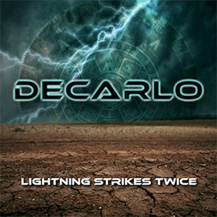 "BOSTON vocalist Tommy Decarlo to unleash ""Lightning Strikes Twice"""