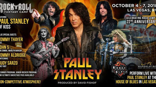 Rock Out With PAUL STANLEY : Rock n Roll Fantasy Camp in Las Vegas