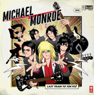MICHAEL MONROE Launches Infectious Single and Video For 'LAST TRAIN TO TOKYO'