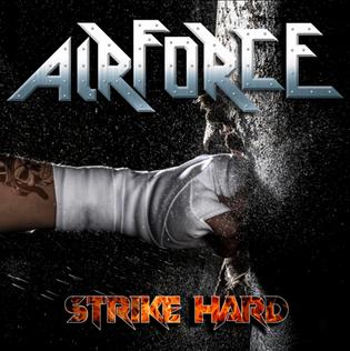 "The newAIRFORCEstudio album""Strike Hard""is set for release on September 4th"