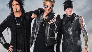 "Sixx:A.M. have released a new lyric video for ""X-Mas In Hell"""