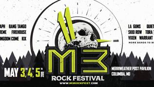 M3 Rock Festival Announces 2019 Lineup feat. Whitesnake, Skid Row, Extreme, Kix, Danger Danger, Warr