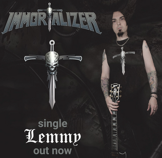 "IMMORTALIZER release new single ""Lemmy"""