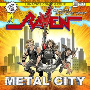 "NWOBHM Legends RAVEN To Unleash ""Metal City"" September 18th, 2020!"