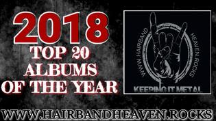 Top 20 Albums of 2018 voted by Hairbandheaven.rocks