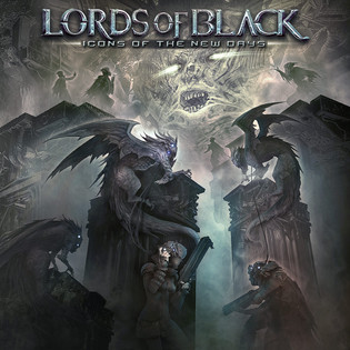 """LORDS OF BLACK featuring Rainbow Singer Ronnie Romero Announce New Album, """"ICONS OF THE NEW DAY"""