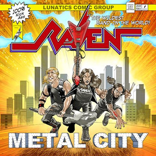 "RAVEN ""Metal City"" Album Review"