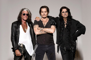 HOLLYWOOD VAMPIRES Feat. ALICE COOPER, JOHNNY DEPP, JOE PERRY: To Release New Album 'Rise' I