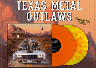 TEXAS METAL OUTLAWS Feat. Jason McMaster release debut album on limited vinyl
