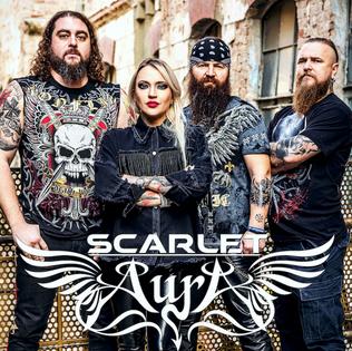 "Scarlet Aura Announces New Album ""Stormbreaker"""