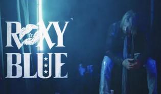 ROXY BLUE Premiere 'Rockstar Junkie' Video