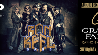 RON KEEL BAND Album Release Party Set For February 23rd At Grand Falls Casino
