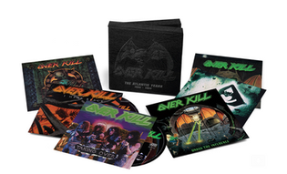 OVERKILL 'THE ATLANTIC YEARS 1986 -1994' VINYL AND CD BOX SETS TO BE RELEASED ON OCTOBER 29TH 2021