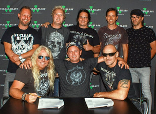 PRIMAL FEAR sign a multi album contract with NUCLEAR BLAST!