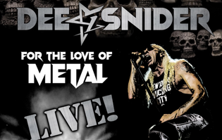 """DEE SNIDER Reveals Music Video for Live Version of """"I Am The Hurricane"""""""