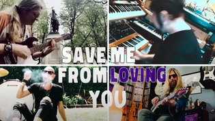 """ECHOBATS Feat. members of TNT, MEGADETH, WHITE LION, MR.BIG, WHITESNAKE release video for """"Save Me f"""