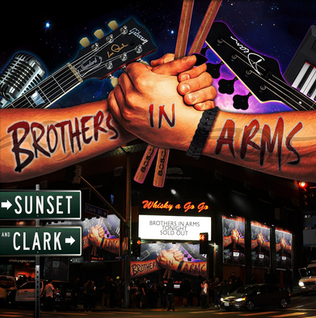 """""""BROTHERS IN ARMS"""" ARE SET TO RELEASE THEIR DEBUT ALBUM FEATURING MEMBERS OF SAVATAGE, DIAMOND HEAD,"""