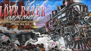 LOVE RAZER CD RELEASE CONCERT (LOVE RAZER) 04/28/2018 ( VIDEO )