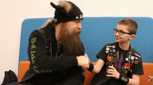 Zakk Wylde Talks to Little Punk People