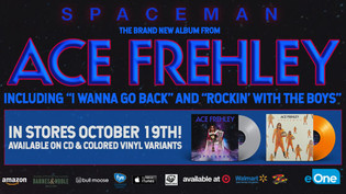 ACE FREHLEY set to release 'Spaceman' October 19th