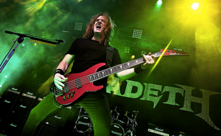 """ELLEFSON Feat. DAVID ELLEFSON STREAMING COVER Of DEF LEPPARD'S """"WASTED""""; Featuring  FR"""