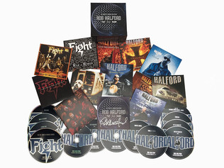 Judas Priest's Rob Halford Releases 'The Complete Albums Collection' From Fight, Two & Halford