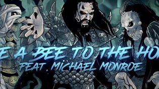 LORDI have released their new lyric video for 'Like A Bee To The Honey' written by Paul Stan