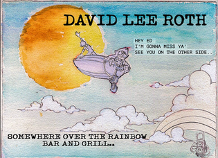 """David Lee Roth releases new song """"Somwhere Over the Rainbow Bar and Grill"""""""