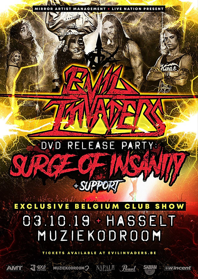 EVIL INVADERS Release Trailer For New DVD 'Surge of Insanity