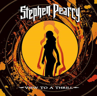 STEPHEN PEARCY Releases New Solo album 'View To A Thrill'