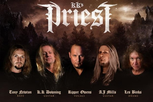 K.K. DOWNING Joins Forces With TIM 'RIPPER' OWENS And LES BINKS In New Band KK'S PRIEST