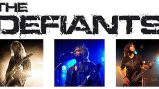 "THE DEFIANTS Feat. Members of Danger Danger Release ""U X'D My Heart"" Video"