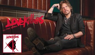 """LOVEKILLERS feat. TONY HARNELL Stream """"Ball and Chain"""""""