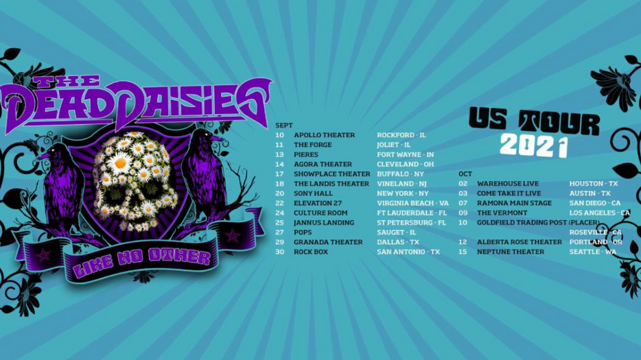 THE DEAD DAISIES SERVE UP A TOUR LIKE NO OTHER, DISHING OUT A FEAST OF ROCK MUSIC & COMEDY
