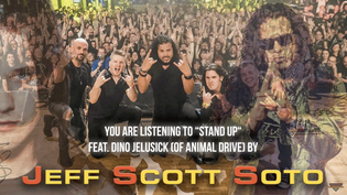 "Jeff Scott Soto releases live cover of ""Stand Up"" feat. Dino Jelusick"