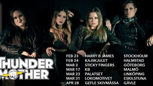 THUNDERMOTHER to release new album February 23rd