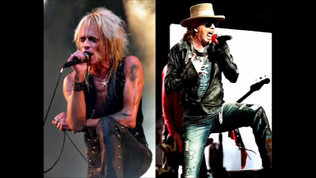 Michael Monroe ( Hanoi Rocks )  Opening for Guns N'Roses in Finland ( Video )